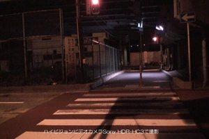 ハイビジョンビデオカメラSony HDR-HC3で撮影した夜間の信号