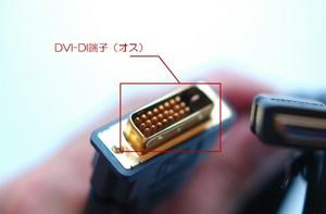 DVI-D端子(オス)