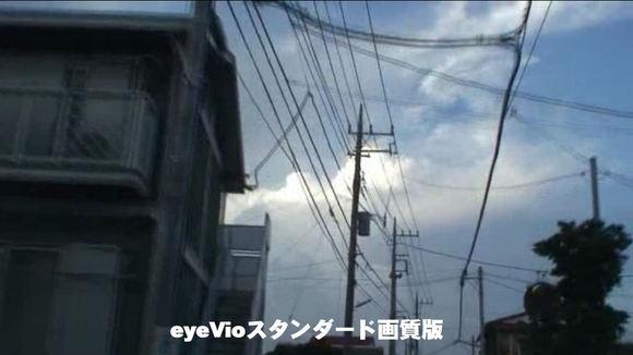 eyeVioにアップロードした動画をスタンダード画質で表示した場合