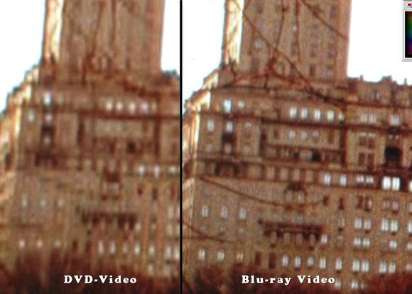 左はDVD-Video右はBlu-ray