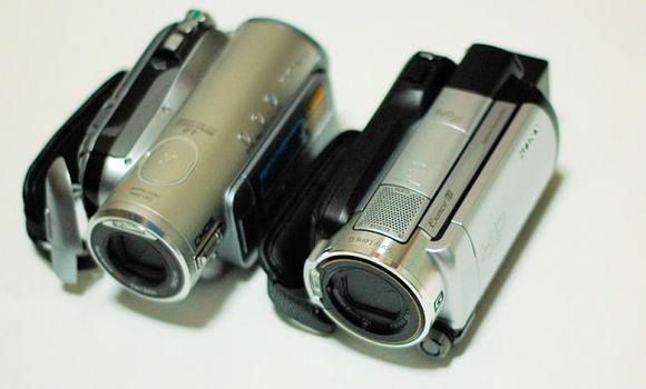 XR500VとHC3の大きさの比較
